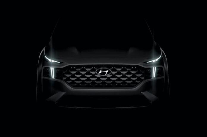 Обновленный Hyundai Santa Fe удивит Т-образной оптикой