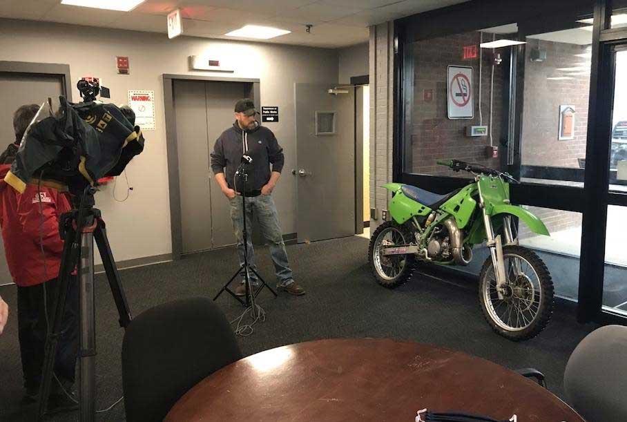 Владельцу вернули мотоцикл, угнанный 27 лет назад