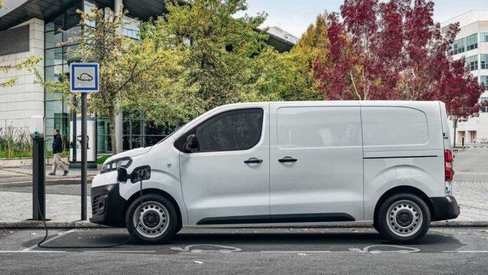 Citroen представил электрический фургон е-Jumpy