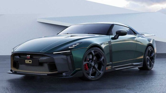 Italdesign представила Nissan GT-R за миллион евро