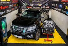 Пикапу Nissan Navara «пересадят» 1000-сильный мотор от GT-R