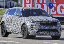 Range Rover Evoque получит третий ряд сидений