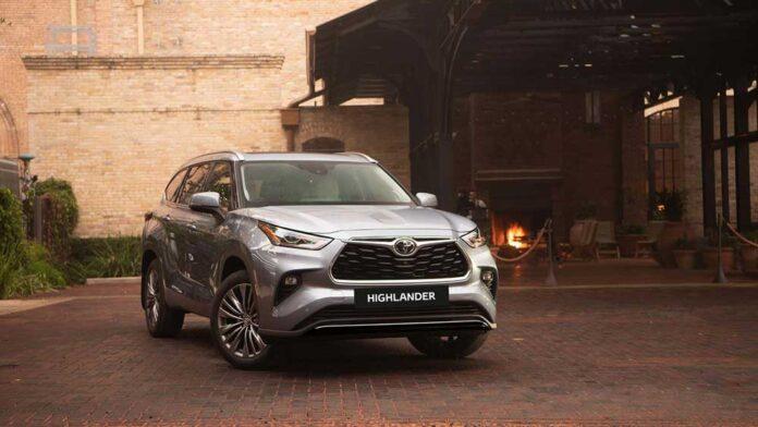 Toyota в Украине начала принимать заказы на новый Highlander