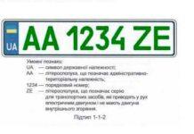 """""""Зеленые"""" номера для электромобилей"""