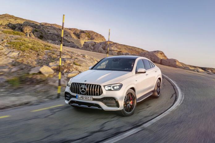 Mercedes-Benz GLE Coupe добрался до Украины