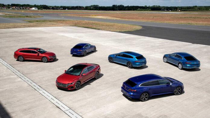 Обновленное семейство Volkswagen Arteon представлено официально