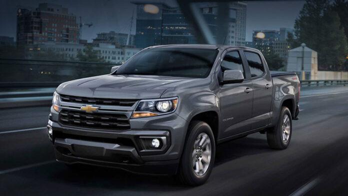 Пикапу Chevrolet Colorado обновили внешность