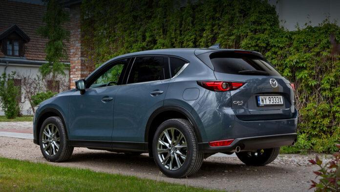 Кроссовер Mazda CX-5 слегка обновился