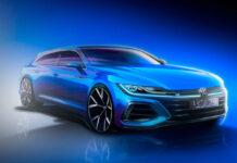 Volkswagen показал внешность универсала Arteon для Европы