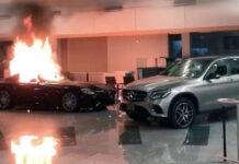 Протестующие в США крушат автосалоны, жгут и угоняют машины
