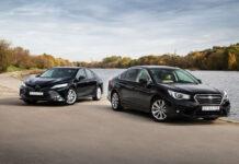 Toyota Camry против Subaru Legacy