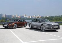 Audi A8 Lпротив Lexus LS 500