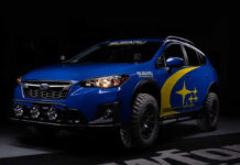Subaru XV подготовили к суровому бездорожью