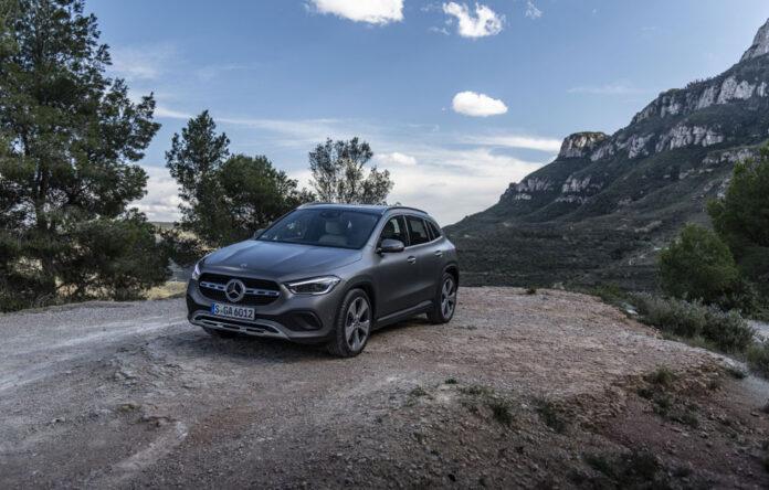 Новый Mercedes-Benz GLA уже в Украине!