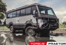 Украинский автобус-вездеход получил две престижные награды