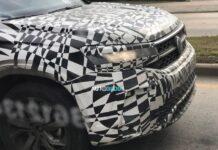 Volkswagen вывел на тесты новый кроссовер Tarek