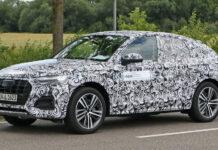Audi вывела на тесты кросс-купе Q5 Sportback