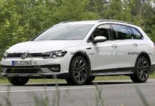 Volkswagen вывел на тесты вседорожный универсал Golf Alltrack