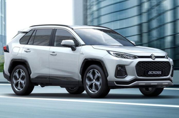 Toyota RAV4 будут выпускать под брендом Suzuki