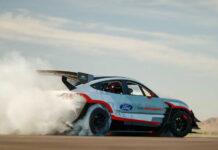 Ford построил Mustang Mach-E с семью электромоторами