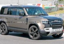Самый мощный Land Rover Defender сфотографировали во время испытаний