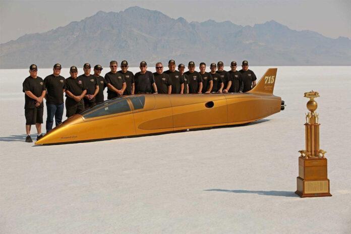 В США побили мировой рекорд скорости