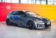 Volkswagen показал 250-сильный Golf GTE