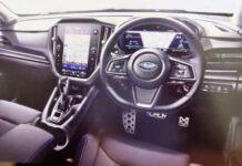 Новый Subaru WRX получит цифровую приборку и большой планшет