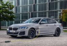 BMW выпустила 394-сильный розеточный гибрид 5-Series