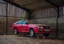 На продажу выставили Audi Quattro, простоявший без движения 26 лет