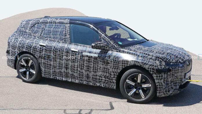 Электрический BMW iNext попал в объективы фотошпионов