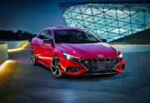 Hyundai представил «спортивную» версию Elantra