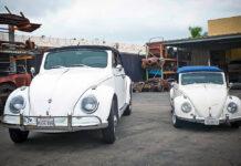 В США построили огромный Volkswagen Beetle