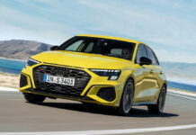 Audi представила седан и хэтчбек S3 нового поколения