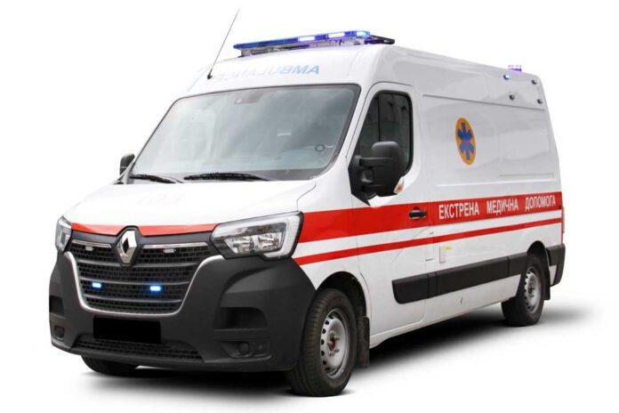 Новый автомобиль экстренной медицинской помощи на базе Renault Master соответствует национальному стандарту Украины