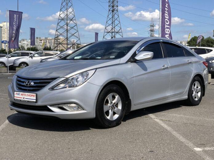 Стартует прием заказов на Hyundai Sonata с ГБО из Кореи по цене от 259 900 грн