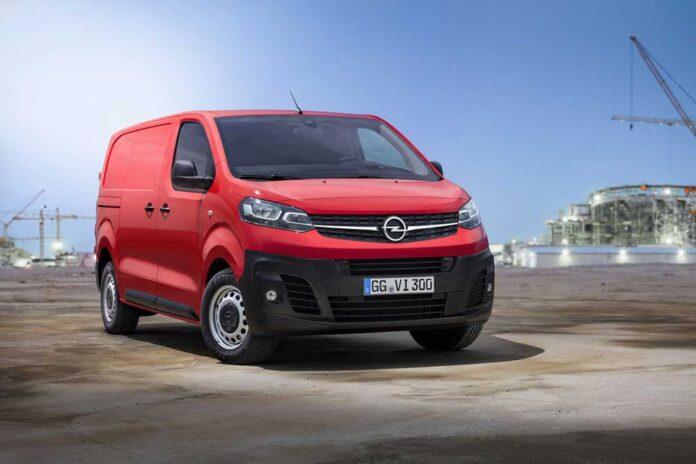 Новый коммерческий фургон Opel Vivaro уже готов трудиться в Украине