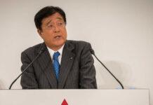 Глава Mitsubishi подал в отставку из-за проблем со здоровьем