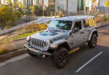 Jeep Wrangler получил гибридную силовую установку