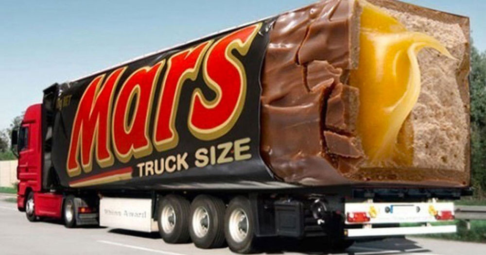 Реклама на грузовиках
