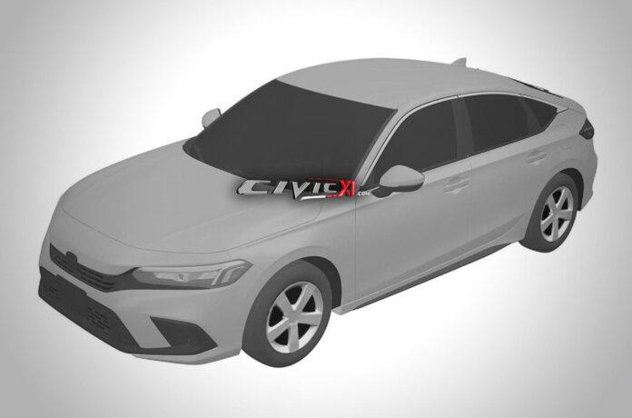 Внешность нового поколения Honda Civic засветили на патентных рисунках