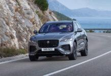 Jaguar F-Pace пережил глубокий рестайлинг