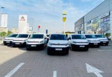 «Новая Почта» получила партию специальных автомобилей Citroen Berlingo VU