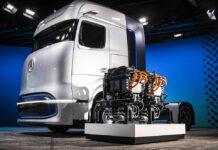 Mercedes-Benz представил водородный грузовик с запасом хода 1000 км