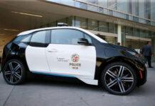 Электрокары BMW i3 оказались непригодными для полиции