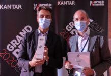 Peugeot получила приз за надежность в Гран-при автомобильных брендов 2020