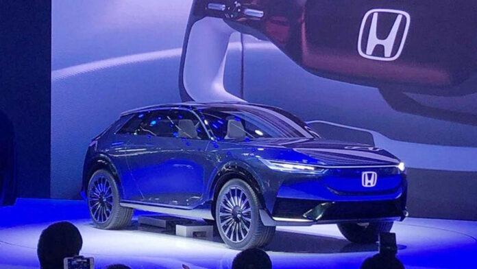 Honda показала на автосалоне в Пекине концепт электрического кроссовера