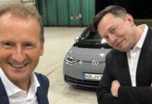 Илон Маск дал оценку электрическому Volkswagen ID.3
