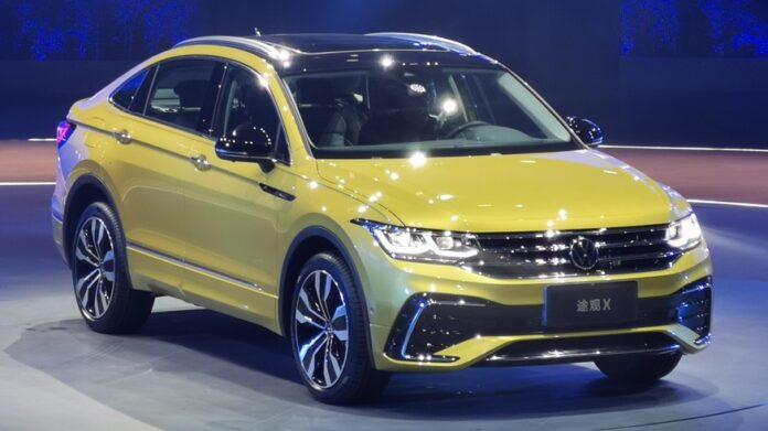 Volkswagen представил серийный кроссовер Tiguan X