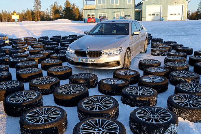 Немецкий AutoBild протестировал 51 модель зимних шин 245/45 R18